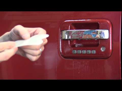 How To Install Universal Door Cup Protector--Any Vehicle