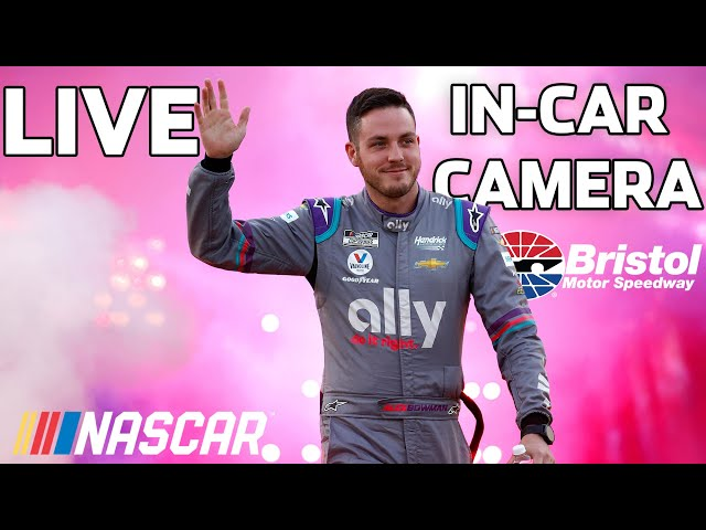 LIVE: Alex Bowman's in-car Camera from Bristol Motor Speedway presented by Goodyear