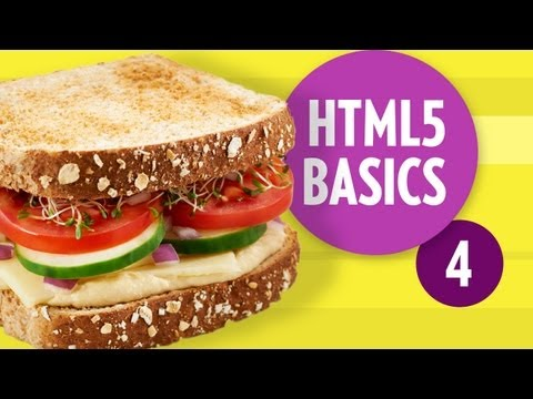 HTML5 Basics - Tags (Part4)