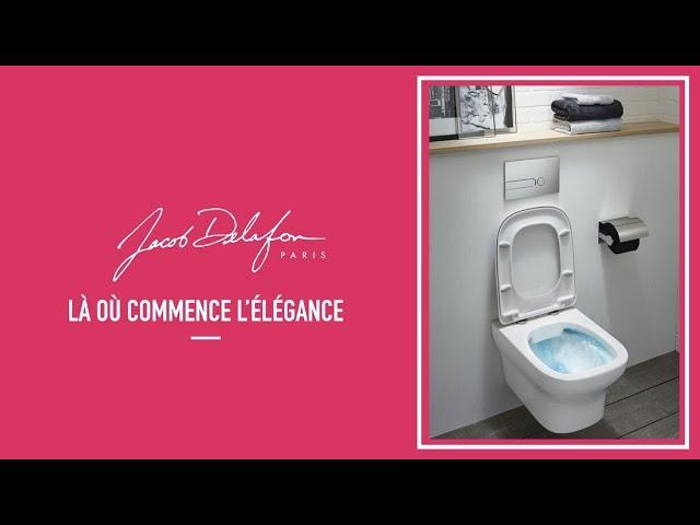 Installation Cuvette Toilette Suspendue Jacob Delafon Youtube