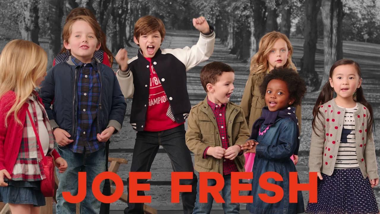 e5c783e2822b8 Joe Fresh Fall 2016 Campaign: Kids - YouTube