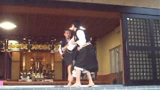 2012年・少林寺拳法沖縄礼邦道院ふてんままつり奉納演武