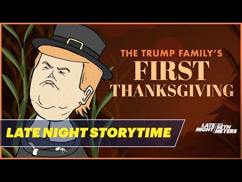 The Trump Family's First Thanksgiving