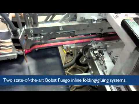 Seidl's Bindery - Our Inline Folding/Gluing Capabilities
