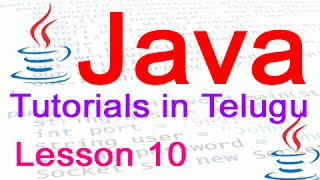 Java in Telugu - Tutorial 10 - Nested If Statement