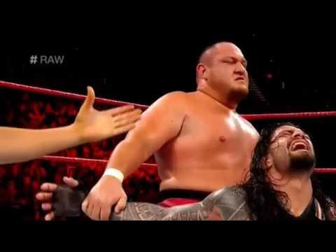 Roman Reigns vs Samoa Joe | WWE Raw 6th February 2017 Full Match thumbnail