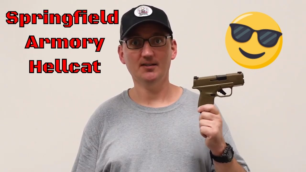 Springfield Armory Hellcat - Unboxing and First Shots (2020)