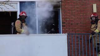 Slaapkamerbrand in Appingedam