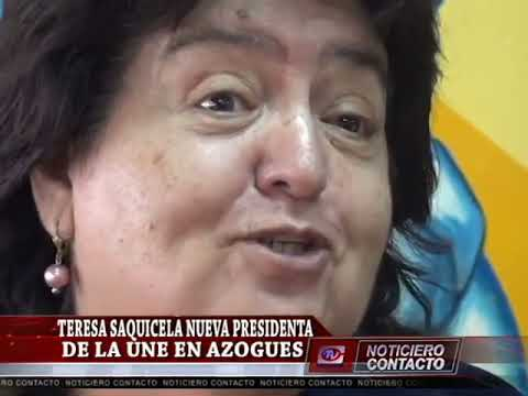 Nueva Presidenta UNE de Azogues