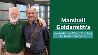 WORKSHOP V - FLYERS | PAVAN BAKSHI : Marshall Goldsmith's Team Coaching for Leadership Teams