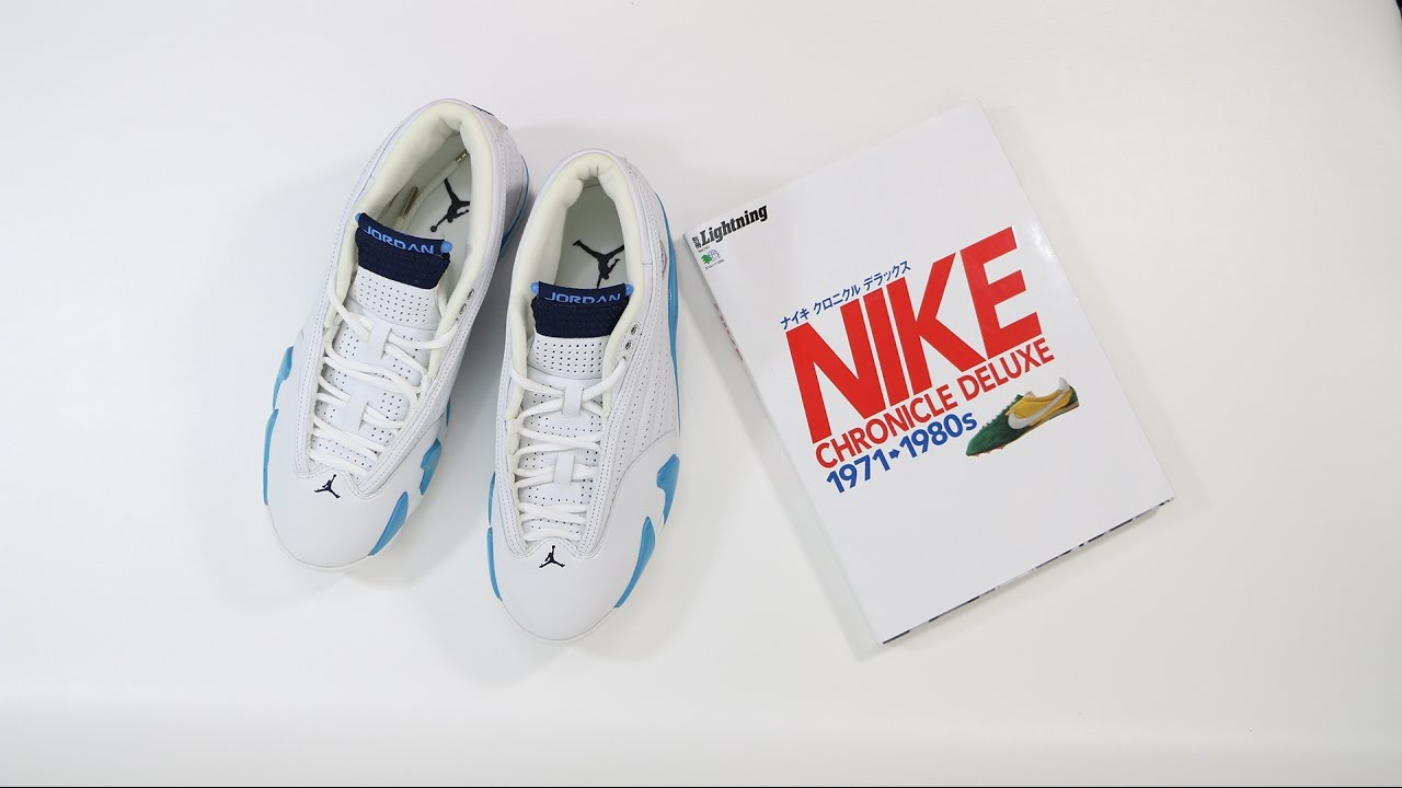 size 40 69681 16248 The OG Air Jordan 14 XIV Columbia Blue Low   The Nike Chronicle Deluxe