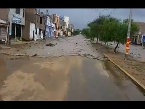 HUAICOS EN PERÚ | SEXTO HUAYCO EN TRUJILLO 19-03-2017