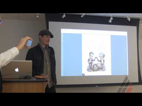 Jason Seiler Visiting Artist Lecture at the American Academy of Art