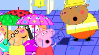 Peppa Pig Official Channel | School Roof is Leaking Again