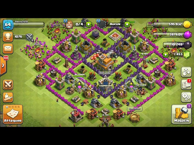 ASMR CLASH OF CLANS LA PLUS RELAXANTE DU MONDE