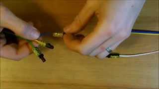 Samořezná kabelová spojka NICHIFU NDC 2420