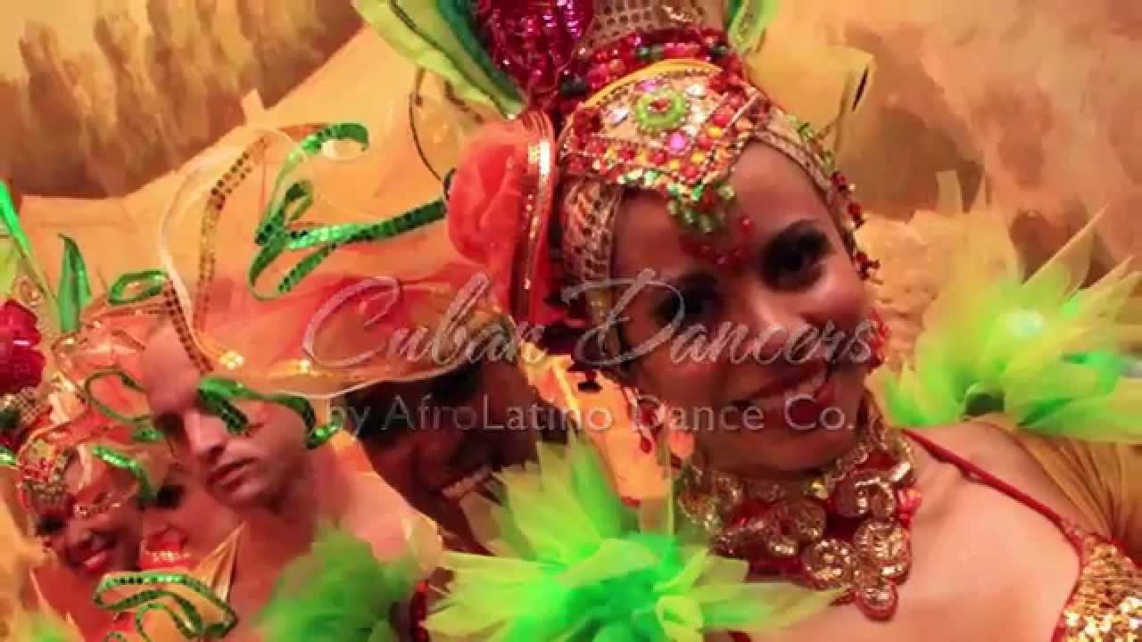 Toronto Salsa Dancers, Cuban Dance Shows - AfroLatino Dance Company