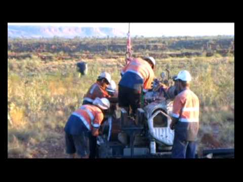 Heliportable Diamond Drilling Rig in the Tanami Desert, Australia - WDA Drilling