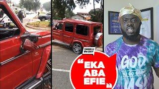 Yawa Of The Day: The Legon Girl And G-Wagon Wahala