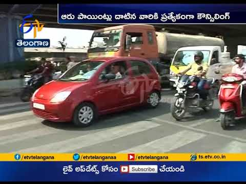 Cross 12 penalty points, lose your driving licence in Hyderabad | A report