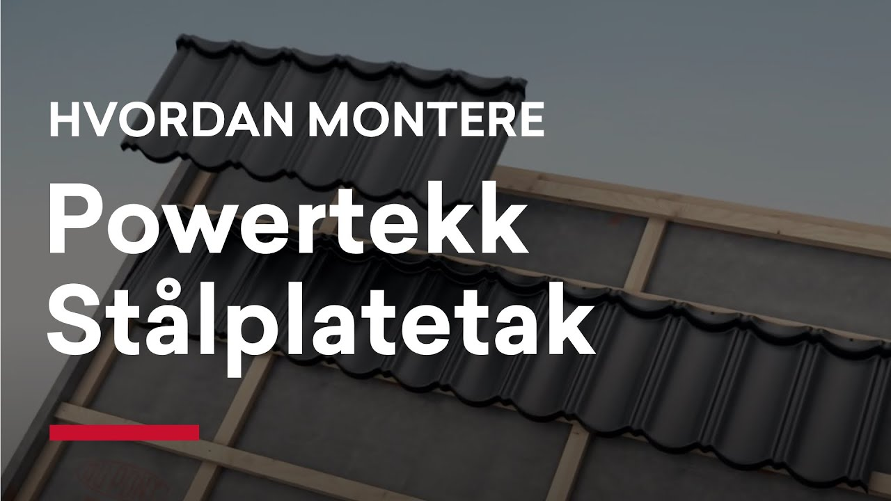 Montering Isola Powertekk Youtube