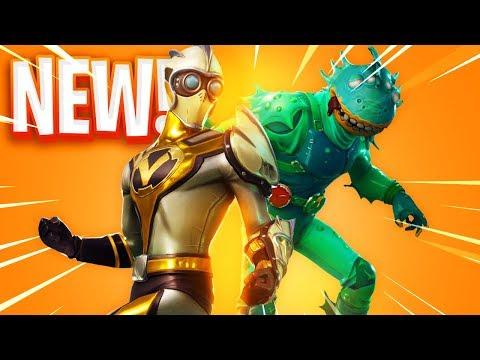 The NEW SKINS in Fortnite..