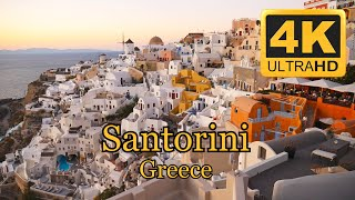 Santorini Greece (215 min. in 4K)