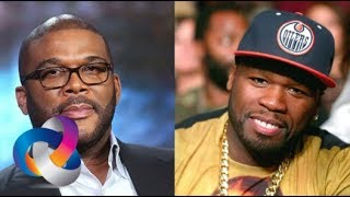 Tyler Perry Put The Fear Of God In 50 Cent With The Packaging Of His Invite For His Studio Opening