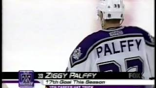 Ziggy Palffy Completes His Hat Trick against the Rangers 11/28/00