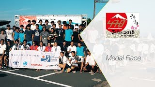 470 class Japan Championships 2018 Medal Race