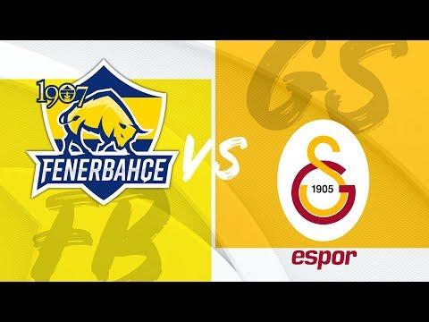 1907 Fenerbahçe Espor (FB) vs Galatasaray Espor (GS) Videosu