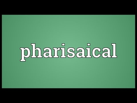 Header of pharisaical