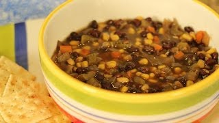 Tiffany's Black Bean Soup - Crockin' Girls