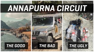 Annapurna Circuit Trek Review - The Good, The Bad & The Ugly