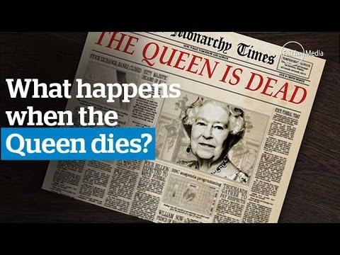 what happens when the queen dies - photo #1