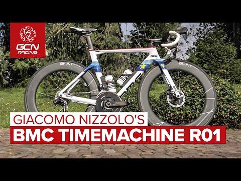 Giacomo Nizzolo's BMC Timemachine R01 Aero Bike | The Most Bling Bike In The Bunch?