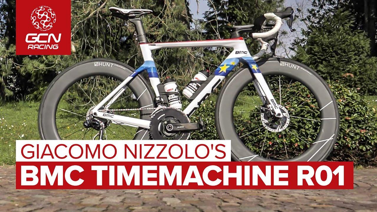 Giacomo Nizzolo's BMC Timemachine R01 Aero Bike   The Most Bling Bike In The Bunch?