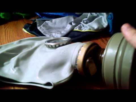 WW11 Russian gas mask
