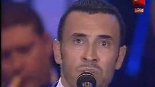 كاظم الساهر/أنا وليلى في أخرحفل في ليالي التلفزيون المصري لأول مرةع اليوتيوب