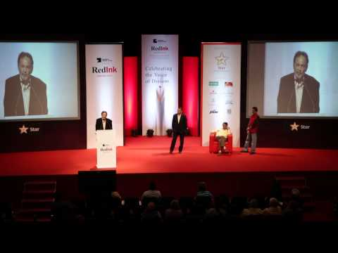 Red Ink Awards 2015: Lifetime Achievement Award to Dr. Prannoy Roy
