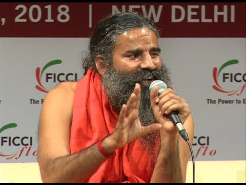 An Interactive Session with Swami Ramdev | FICCI, New Delhi | 09 Oct 2018 (Part 3)