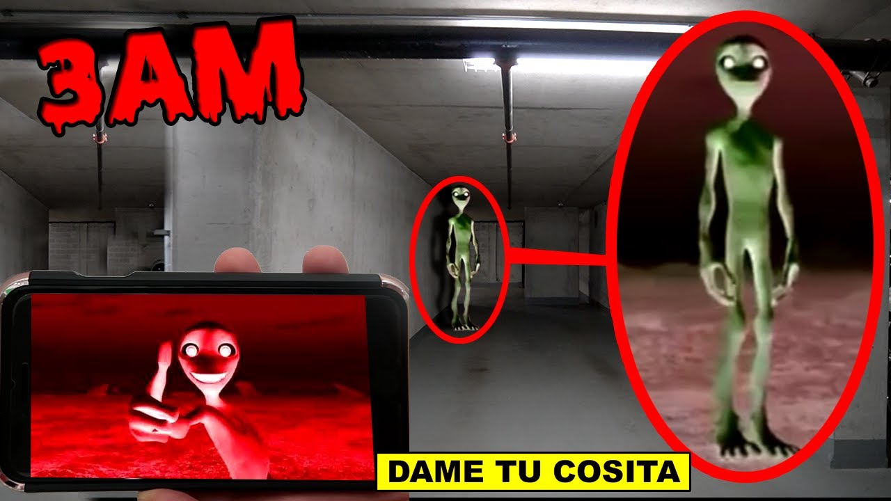 DONT WATCH SCARY DAME TU COSITA VIDEOS AT 3AM OR DAME TU COSITA.EXE WILL APPEAR! | EL CHOMBO 3AM