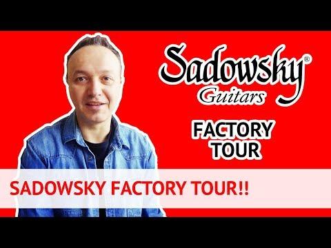 Sadowsky Guitars Factory Tour! (ENG/ITA) Lezioni di Basso Elettrico