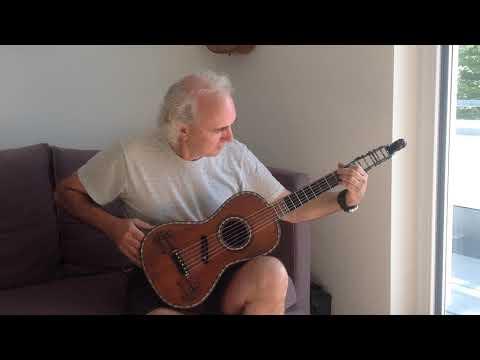 John Doan plays a 19th Century piano guitar
