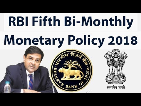 Fifth bimonthly Monetary Policy 2018-19, Monetary Policy Committee keeps the Repo Rate unchanged