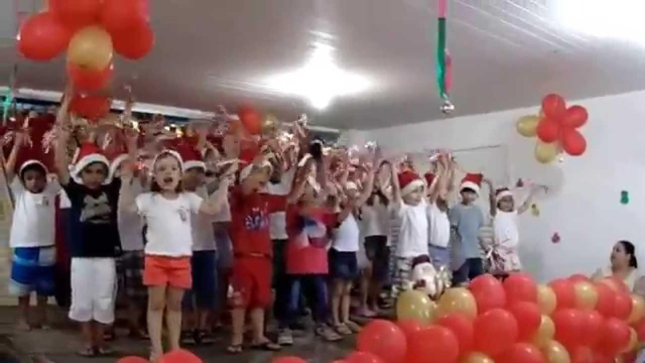 apresentação do coral da educação infantil natal 2014 na escola daapresentação do coral da educação infantil natal 2014 na escola da olaria youtube
