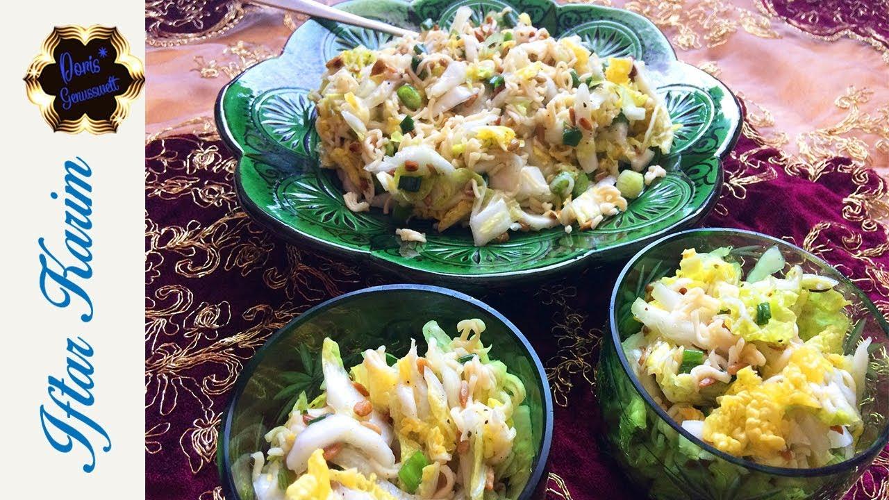 Yumyum Salat Vorsicht Köstlich Partysalat Einfach Gemacht