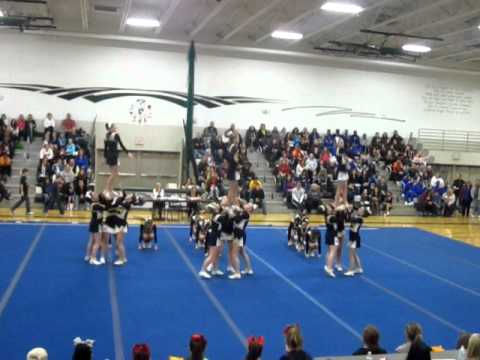 Templeton Middle School 8th Grade Cheerleaders - 2012 Bring on the Heat Competition