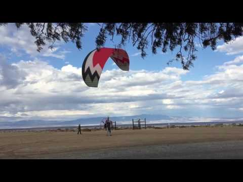 Cliff's high wind launch