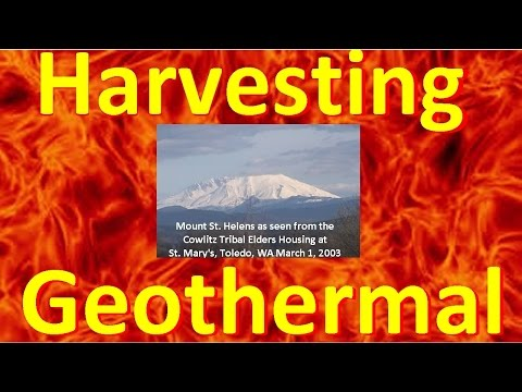 Tapping Geothermal Energy - Yellowstone, Mount St. Helens & Campi Flegrei